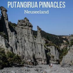 Putangirua Pinnacles Wanderung Neuseeland reisefuhrer