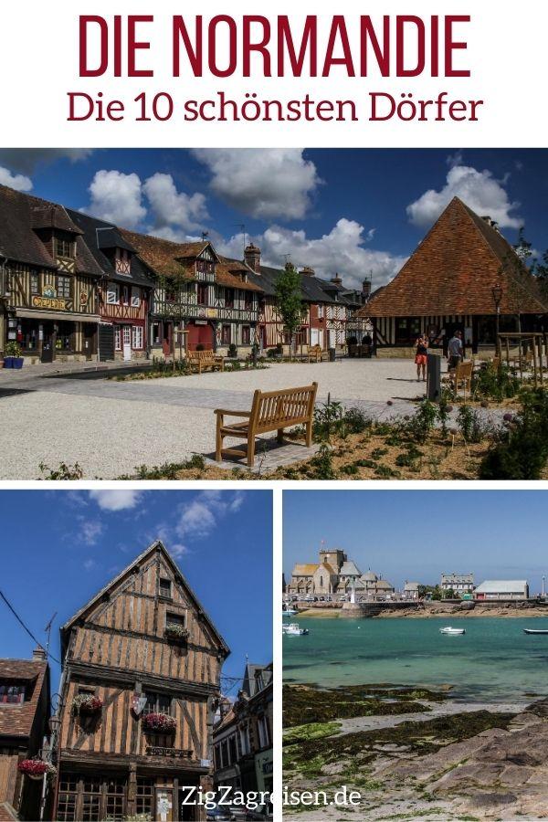 schonsten Dorfer Normandie reisen Pin3